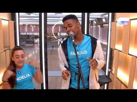 Famous, Noelia y Damion en el BOX | OT 2018