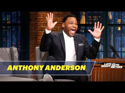 Anthony Anderson Golfed With Michael Phelps, Chris Paul and President Obama