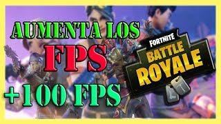 Como SUBIR los FPS en FORTNITE 2019 PC BAJOS RECURSOS | JUGAR SIN LAG, +100 FPS