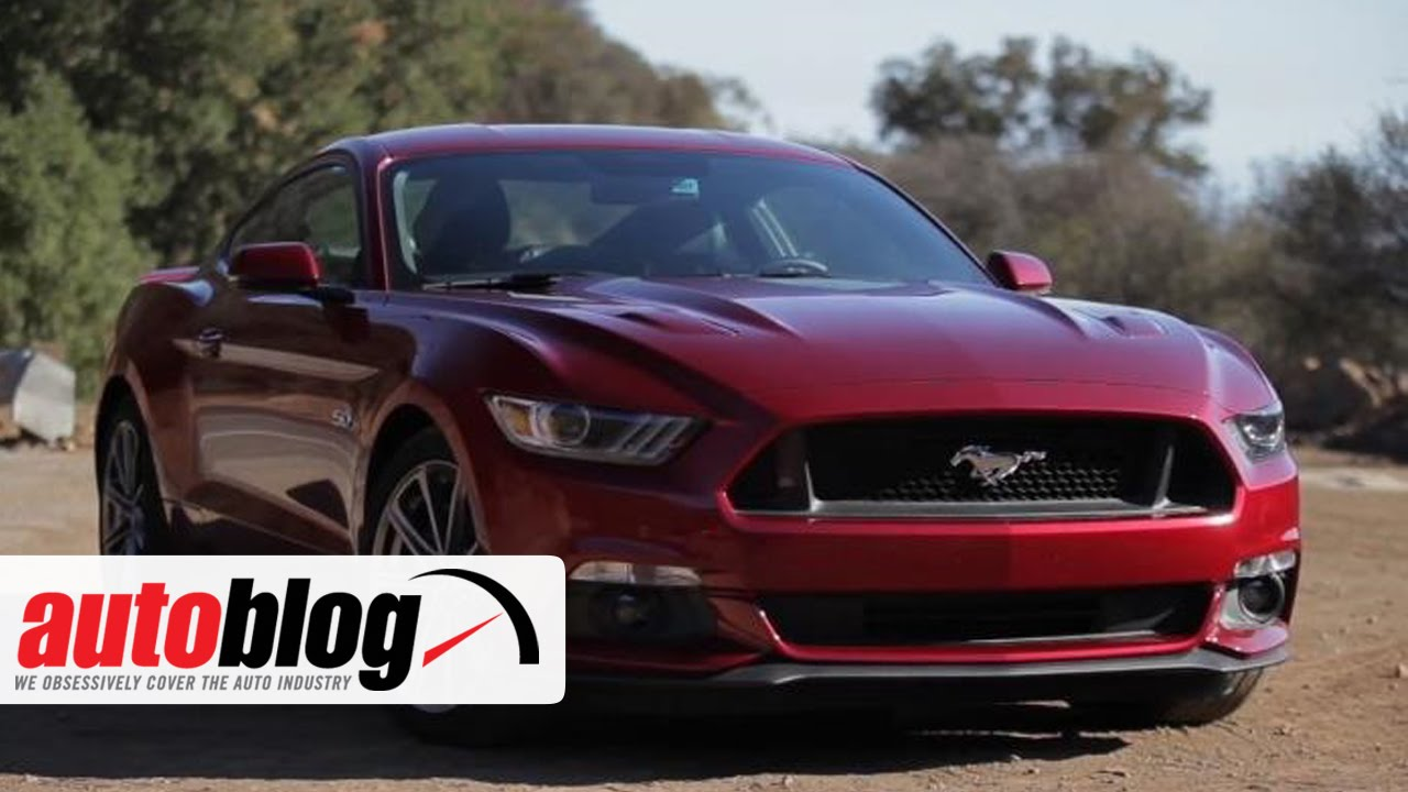 2015 Ford Mustang Gt Autoblog Youtube
