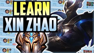 HOW TO PLAY Xin Zhao LIKE A PRO IN 13 MINUTES - Xin Zhao Jungle Commentary Guide - League of Legends