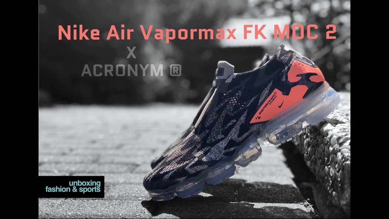 115667dbc7c10 Nike Air Vapormax FK MOC 2 x ACRONYM  Thirsty Bandit