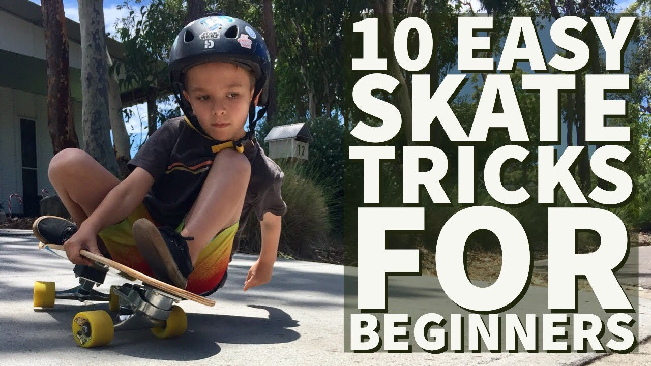 10 Easy Skateboard Tricks For Beginners - YouTube