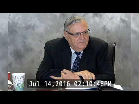 RAW VIDEO: Deposition of Sheriff Joe Arpaio (4 of 4)