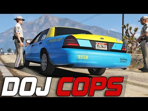 Dept. of Justice Cops #231 - Crazy Taxi (Criminal)