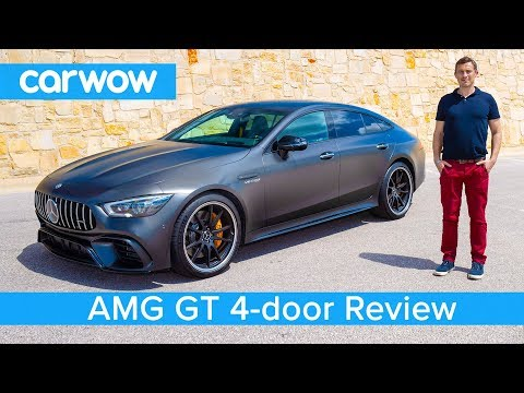New Mercedes-AMG GT 4-door Coupe 2019 REVIEW – see if it's quicker than an E63 S over a 1/4 mile