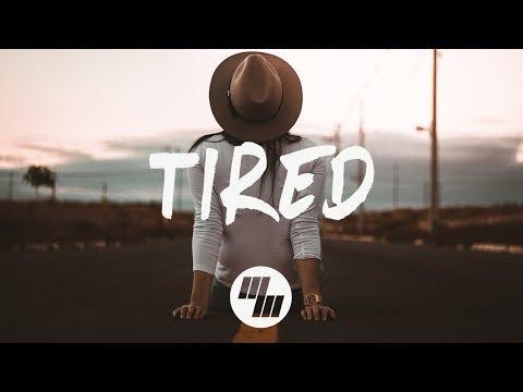 Alan Walker - Tired (Lyrics / Lyric Video) Wild Cards Remix, ft. Gavin James