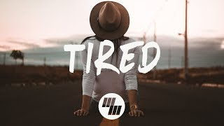 Alan Walker - Tired (Lyrics / Lyric Video) Wild Cards Remix, ft. Gavin James
