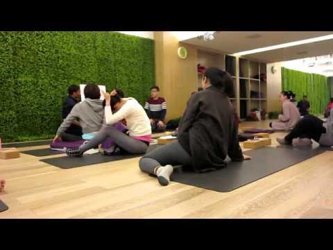Chongqing Namaste Yoga Center Digestive Visualization and Healing Meditation dr Xia xi