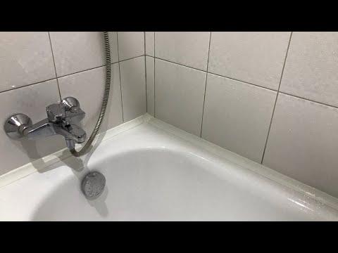 Замена пластикового уголка в ванной. Какой лучше силикон
