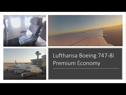 Lufthansa Premium Economy 747-8i ✈ Frankfurt - Beijing ✈ Flight report