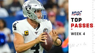 Top Passes from Week 4 | NFL 2019 Highlights
