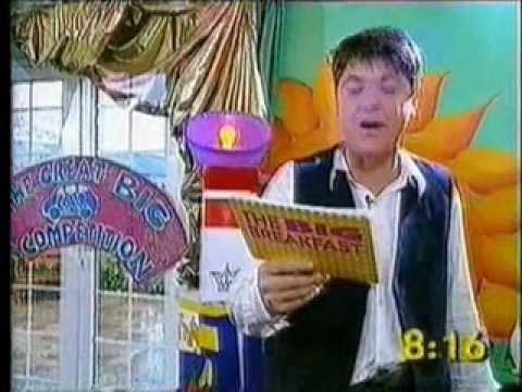 David Day 'Big Breakfast' appearance.wmv