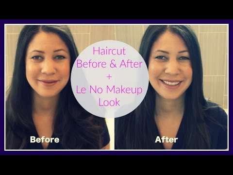 Haircut Before & After + Makeup Chat Tutorial