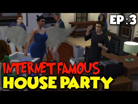 SIMS 4 | INTERNET FAMOUS (EP.3) \ HOUSE PARTY!!