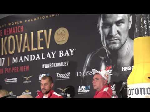 sergey kovalev post ward fight EsNews Boxing
