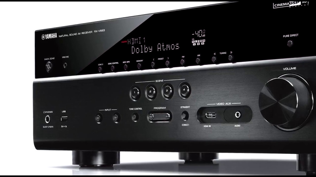 Best Home Theater Receiver 2018? Yamaha RX V683 Review