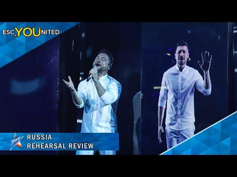 Russia: Sergey Lazarev - Scream   First Rehearsal Reaction - Eurovision 2019