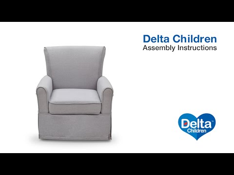 Delta Children Glider Assembly Video