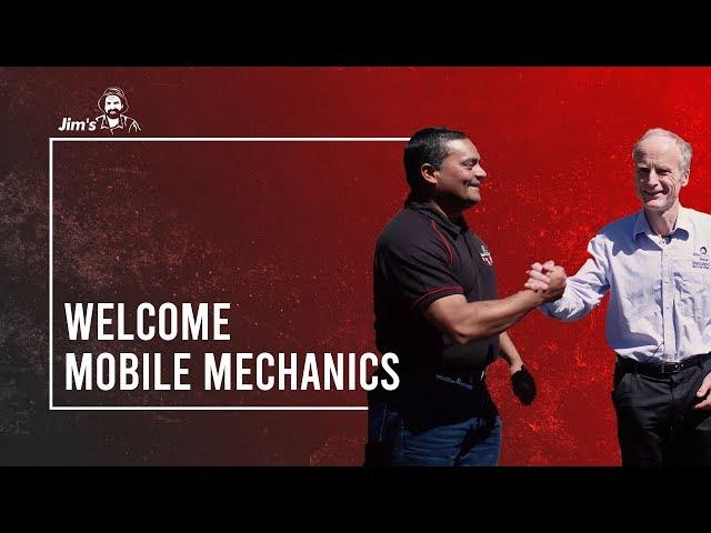 #JIMSGROUP Jim Penman, talks about the new Jim's Mobile Mechanics division | www.jims.net