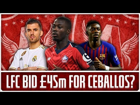 PEPE TO LIVERPOOL TALKS CONFIRMED! | LFC Transfer News & Chat