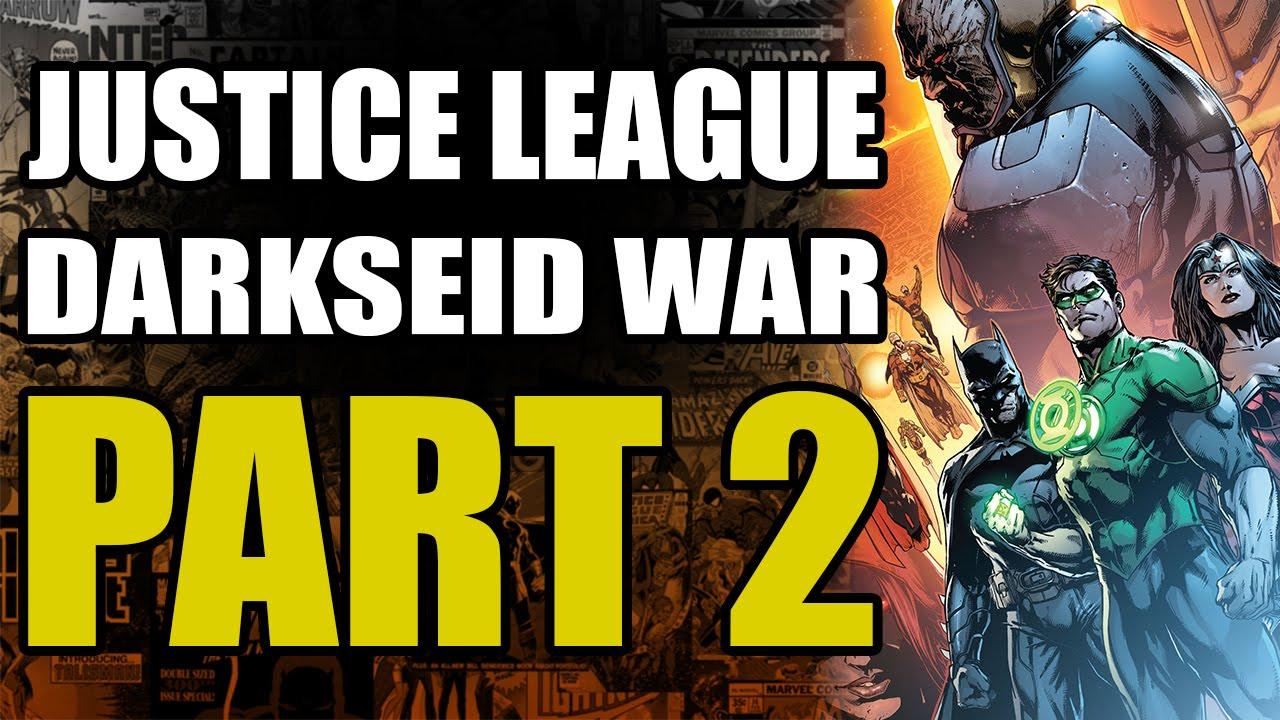 Justice League Darkseid War: Part 2 - Gods and Men   Comics Explained