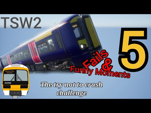 Train Sim World 2 - fails and funny moments Part 5! |