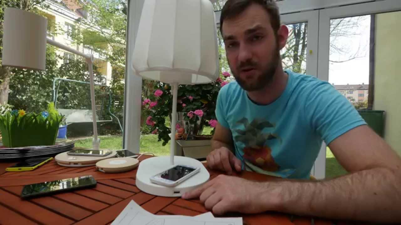 Ikea Varv Lampe Mit Qi Ausprobiert 4k Uhd Youtube