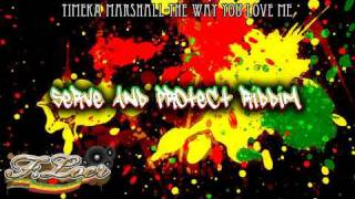 Serve And Protect Riddim ( Culture / Lovers - Reggae ) 2009 - Mix By Floer