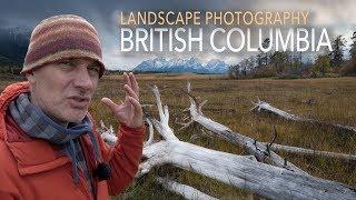 تصوير المناظر الطبيعية في Nemaiah وادي, كولومبيا البريطانية