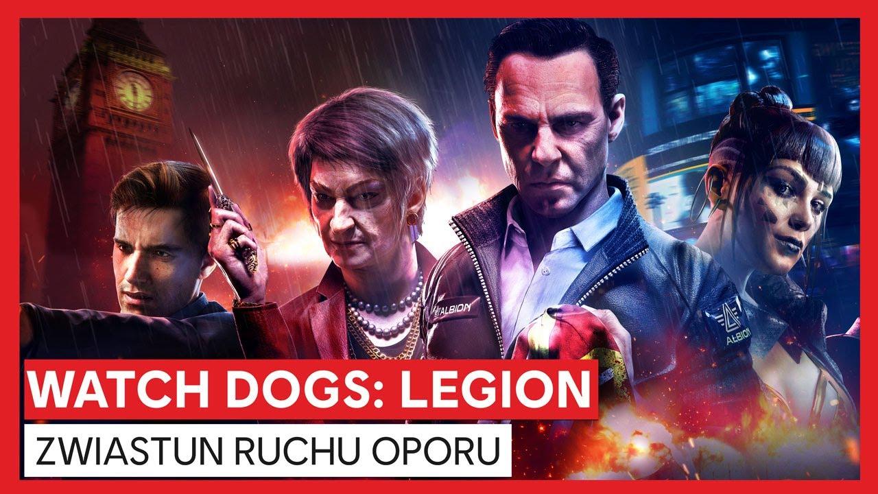 Watch Dogs: Legion - Zwiastun Ruchu Oporu