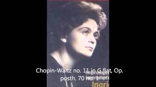 Chopin-Waltz no. 11 in G flat, Op. posth. 70 no. 1 ,Ingrid Haebler
