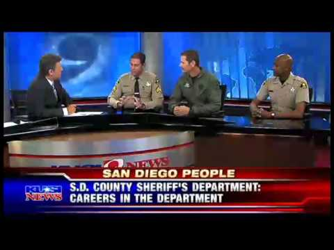 "Sheriff's Open Recruitment on ""San Diego People"" - San Diego County Sheriff's Department"