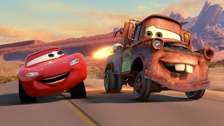 🏁 Mater Races In The Grand Prix   Pixar Cars   Disney Junior UK