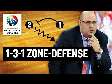 1-3-1 Zone-Defense - Lucas Mondelo Dynamo Kursk - Basketball Fundamentals