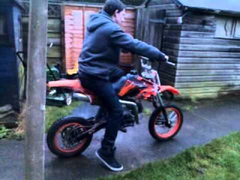 Akuma Assassin 110cc Pitbike Youtube