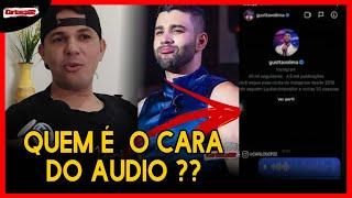 """Quem é o homem do áudio que BOMBOU"""" nas redes sociais, após fazer proposta inusitada a Gustavo Lima"""