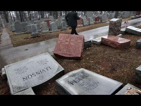 HUNDREDS Of Jewish Gravestones Vandalized