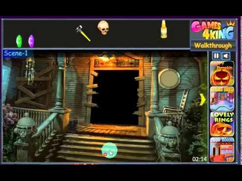 g4k halloween journey 1 escape game walkthrough