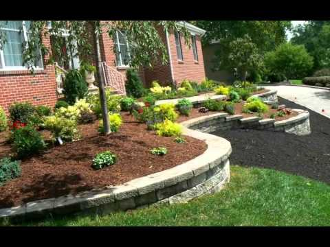 Curb appeal front yard landscaping youtube for Curb appeal garden designs