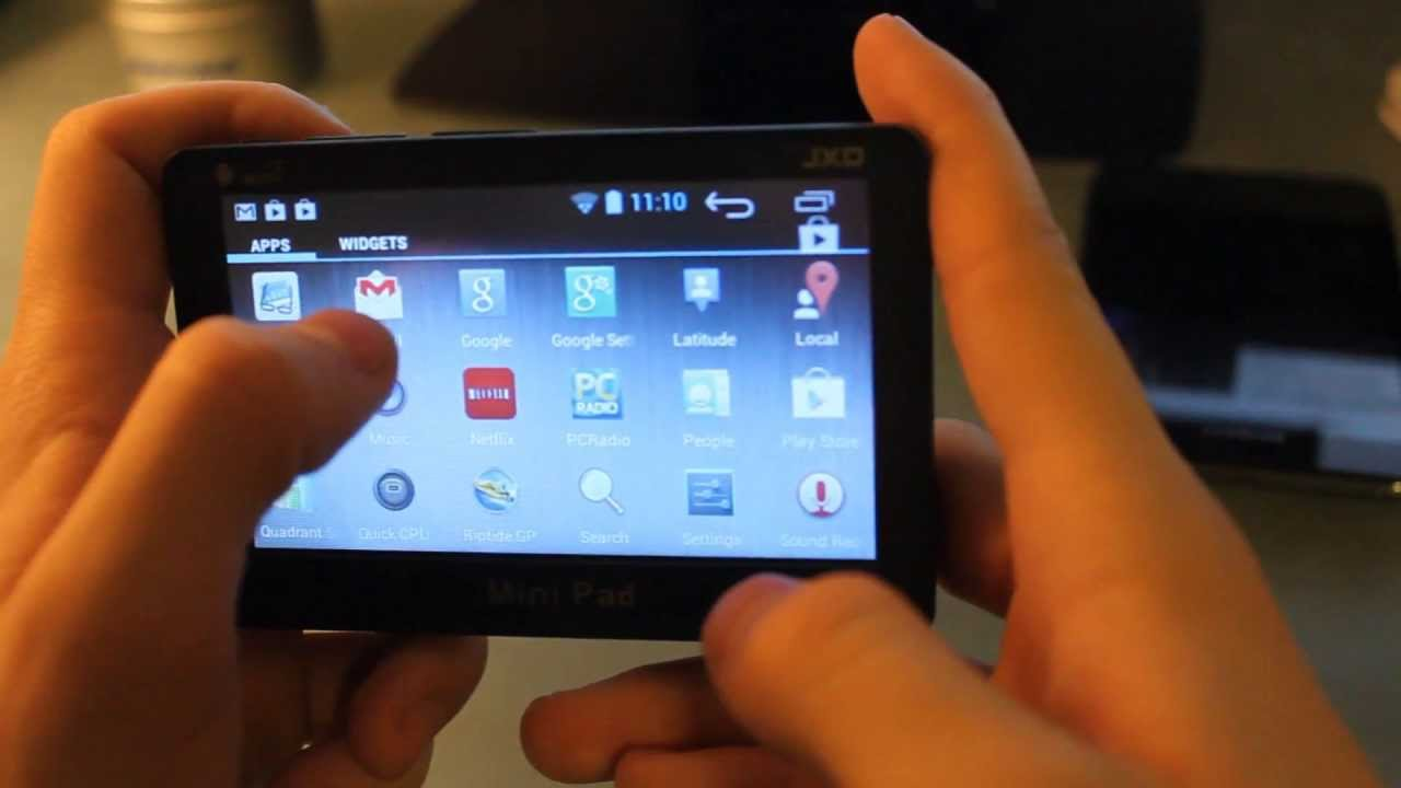 jxd p1000 tablet review