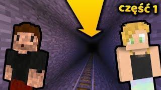 Tunel do... - Minecraft Survival LIVE | ZIO i AGU