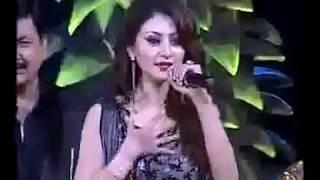 Urvashi Rautela kumaoni popular songs video singing Urvashi Rautela