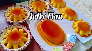 Jelly Flan l How to Make Leche Gulaman Recipe l Jelly Flan Dessert l Gulaman De Leche