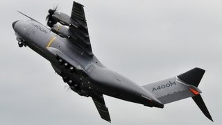 Unbelievable Airbus A400 vertical take-off + Amazing Air Show - Paris Air Show 2013 ( HD )