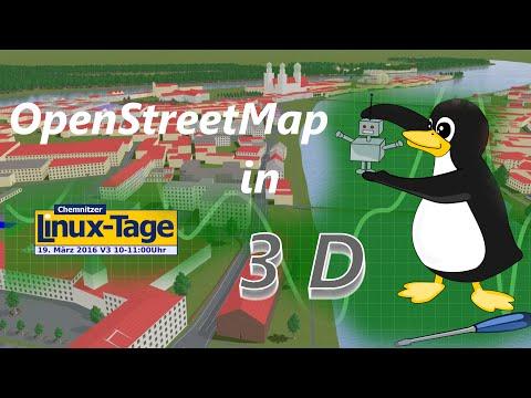 OpenStreetMap in 3D - CLT 2016 - Tobias Knerr (osm2world)