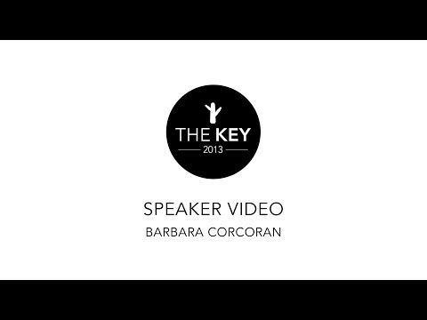 Barbara Corcoran of Shark Tank // Tips to Real Estate and Business Success // The Key 2013