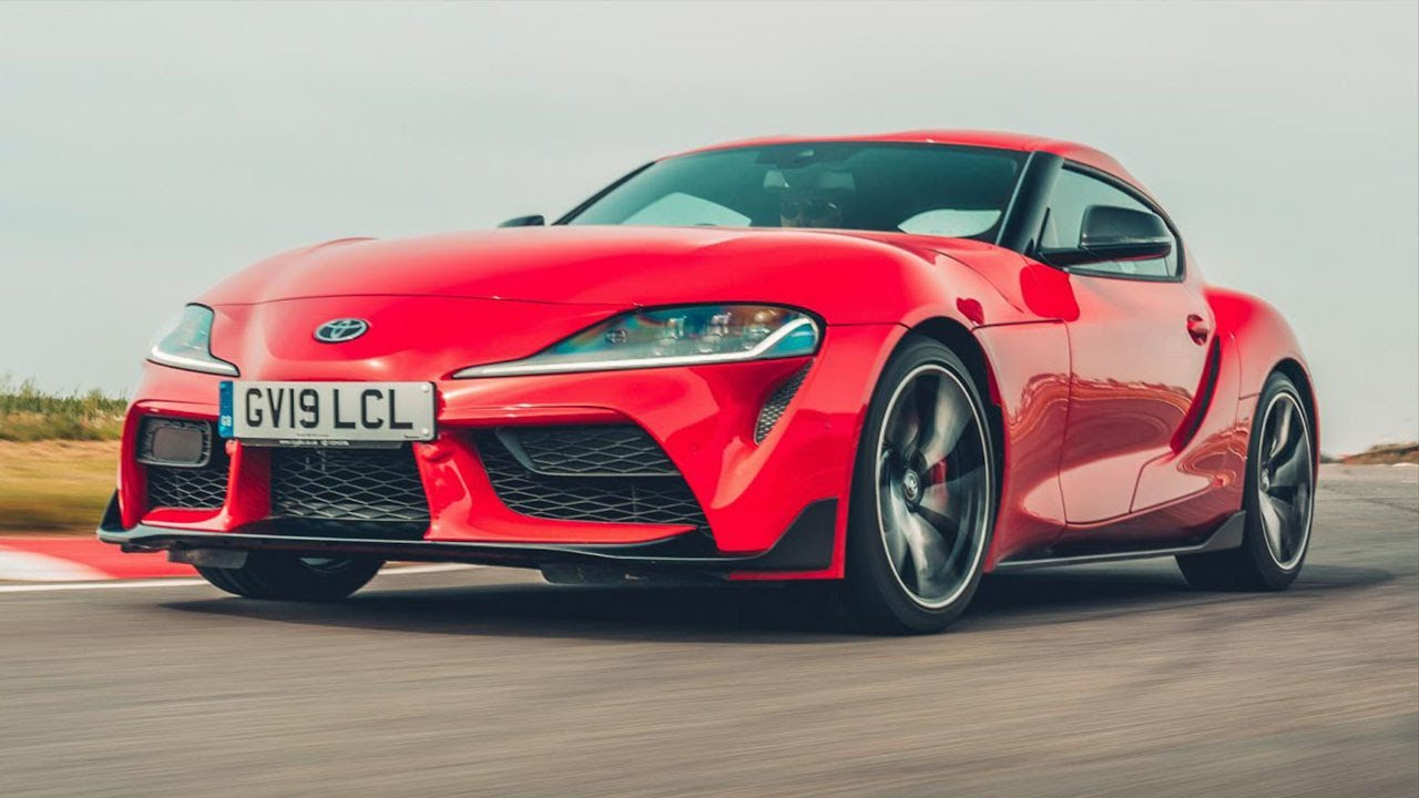 The Toyota Supra Top Gear Youtube