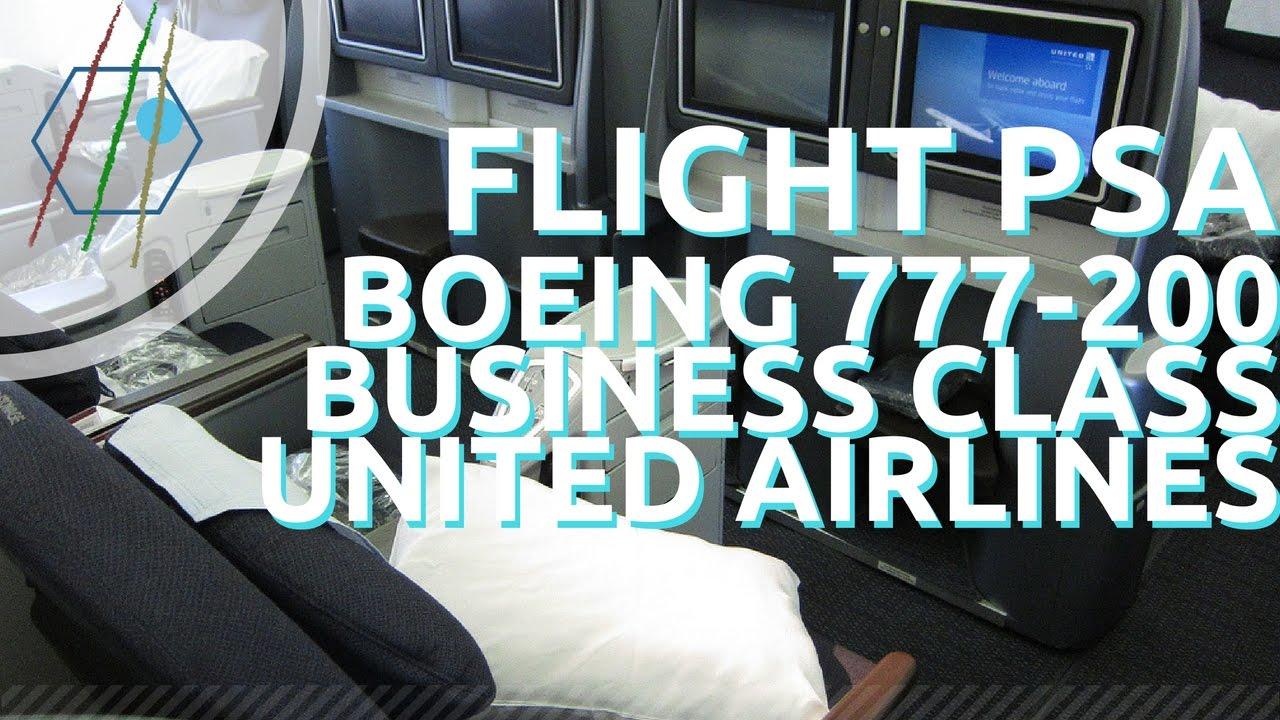 United 777 200 Business Class Vs United Polaris Youtube