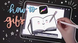 How I Make Animated Gifs On Procreate 🌼